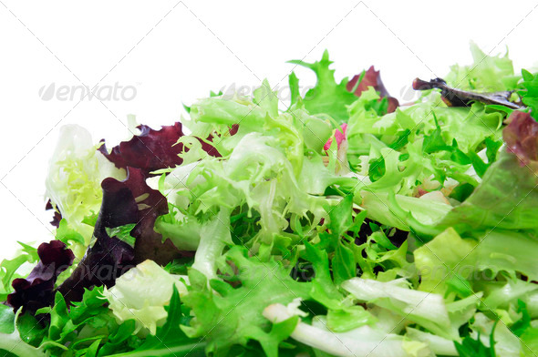 lettuce mix - Stock Photo - Images
