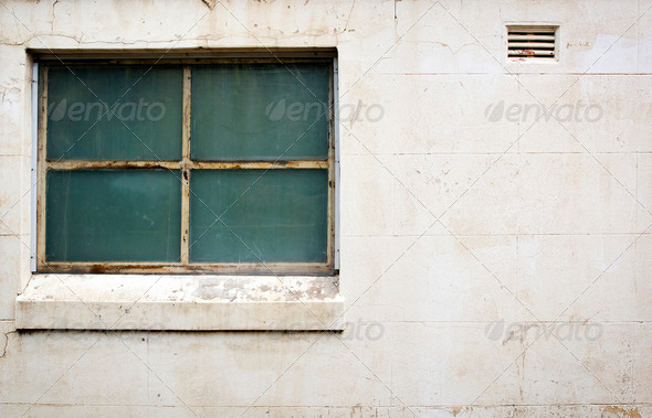 Window on Concrete - Stock Photo - Images