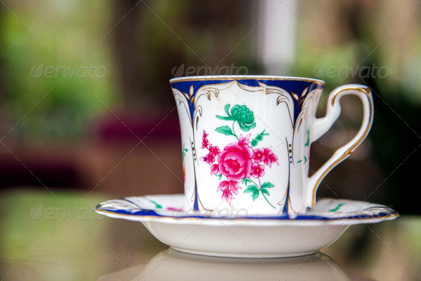 Coffee Cup on table - Stock Photo - Images
