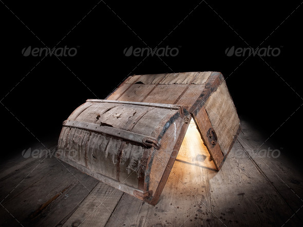 Pandora box - Stock Photo - Images