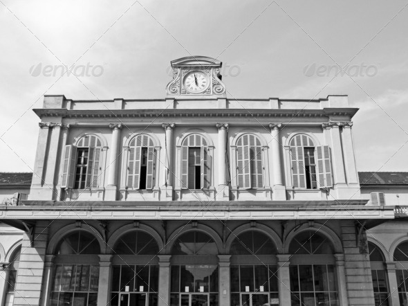 Old station, Turin - Stock Photo - Images