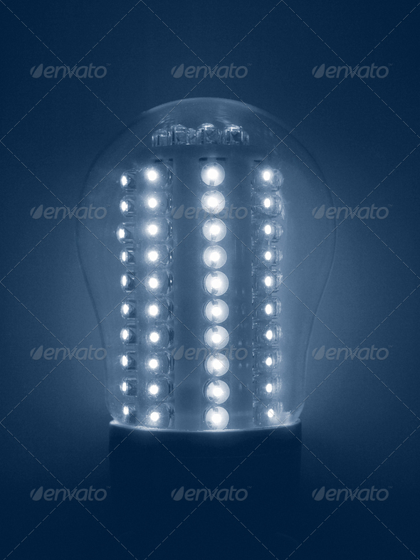 LED Light Bulb - Stock Photo - Images
