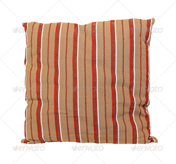Retro pillow - Stock Photo - Images