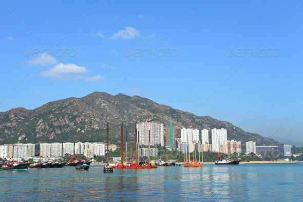 Hong Kong, Tuen Mun - Stock Photo - Images