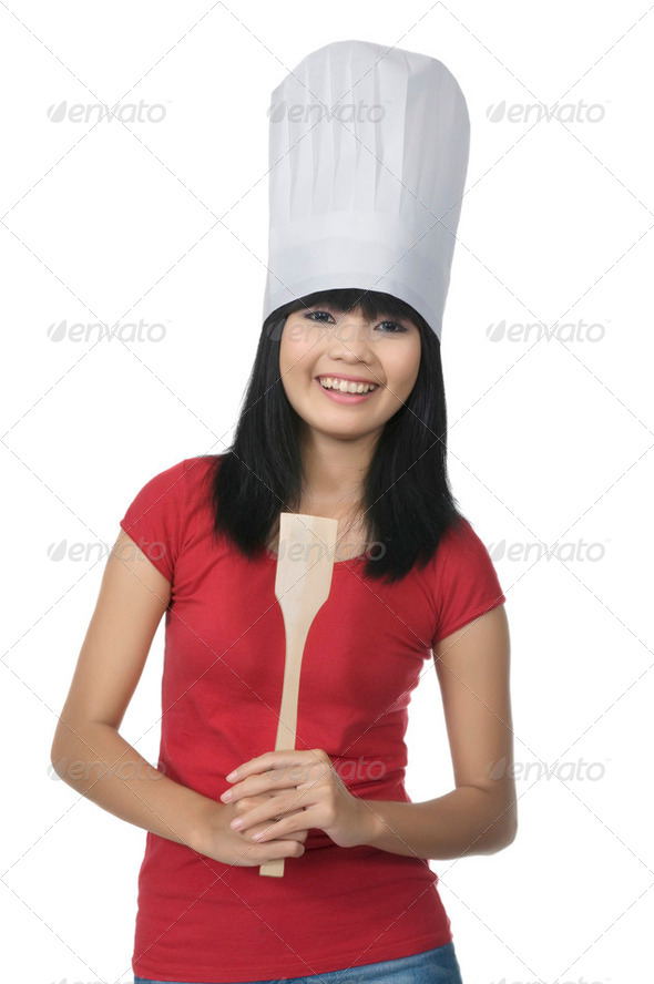 Young Chef - Stock Photo - Images