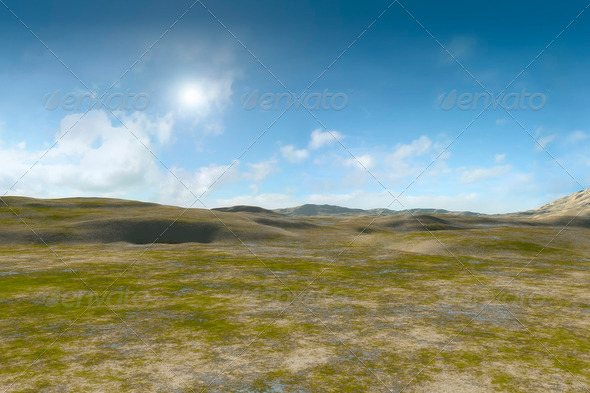 landscape without vegetation - Stock Photo - Images
