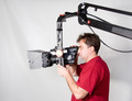 Cameraman Work With Crane - PhotoDune Item for Sale