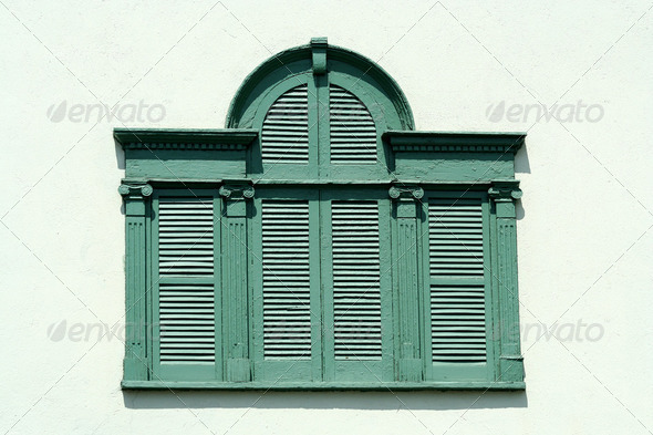 Old window - Stock Photo - Images