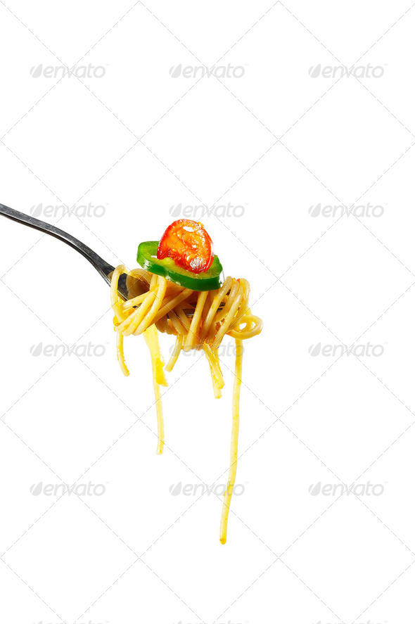 spicy italian pasta tomato and chili peppers sauce - Stock Photo - Images