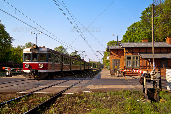 Passenger train - Stock Photo - Images