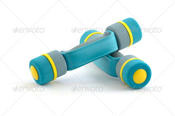 Hand weights - Stock Photo - Images