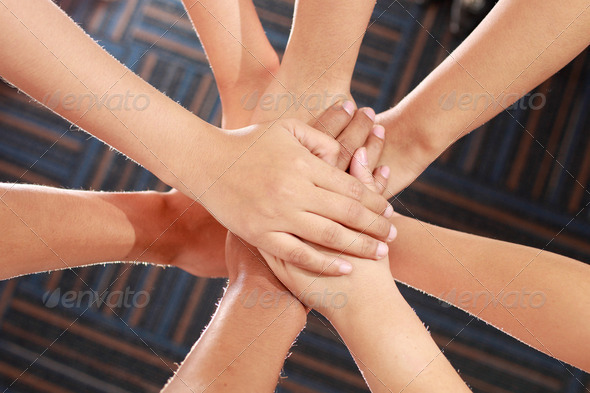 united hands - Stock Photo - Images