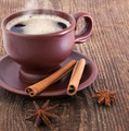 Cup of coffee with cinnamon and anise - PhotoDune Item for Sale