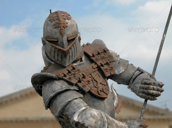 Warrior Armour, Verona, Italy, 2004 - Stock Photo - Images