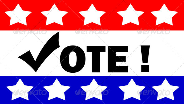 vote illustration - Stock Photo - Images