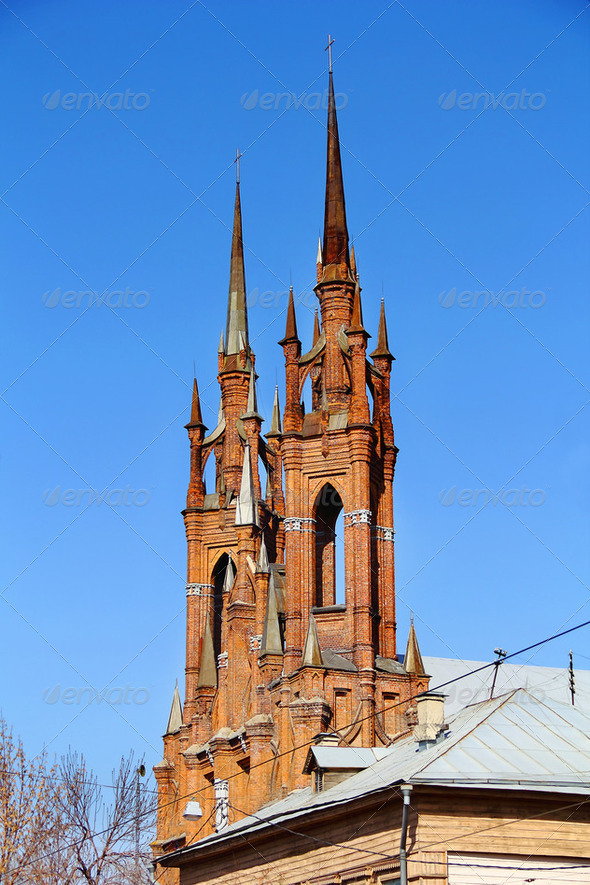Roman catholic church - Stock Photo - Images