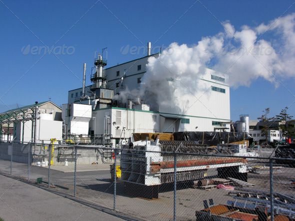 Ethanol Factory - Stock Photo - Images