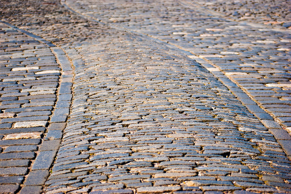 Cobblestones - Stock Photo - Images