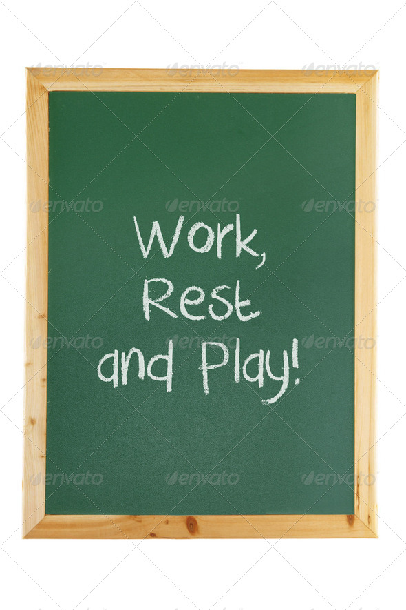 Blackboard with Motivation - Stock Photo - Images