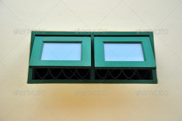 vintage window - Stock Photo - Images