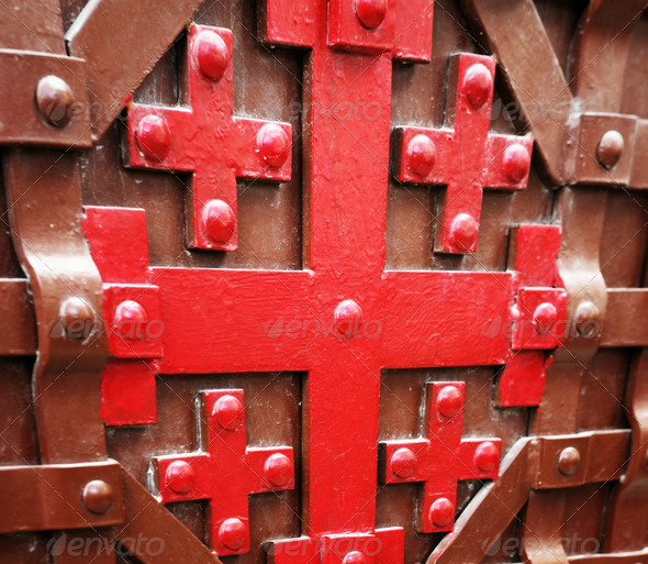 Jerusalem Cross - Stock Photo - Images