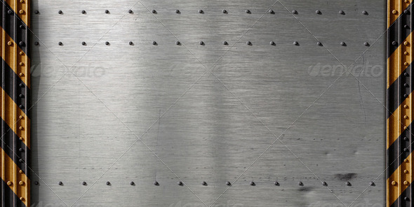 metal template background - Stock Photo - Images