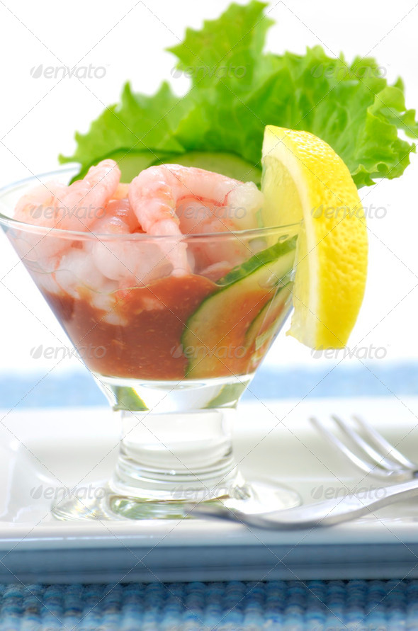 Shrimp cocktail v2 - Stock Photo - Images