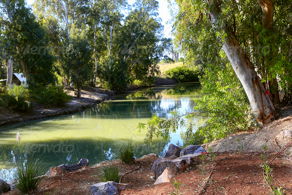 Jordan river - Stock Photo - Images