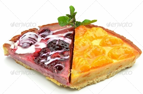 Fruit cakes - Stock Photo - Images