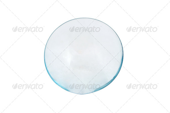 contacts lens - Stock Photo - Images