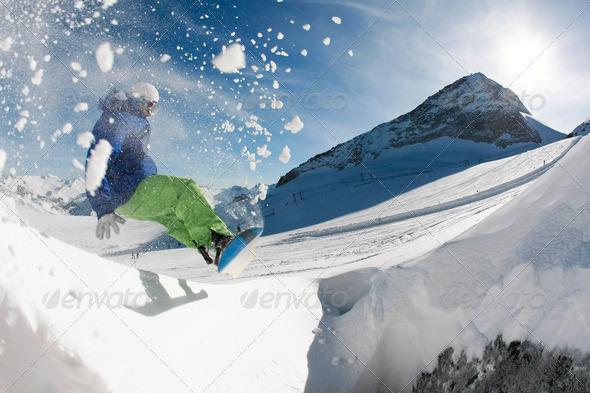 PhotoDune Snowboarding 354952
