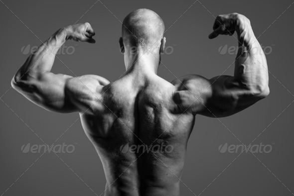 fitness male - Stock Photo - Images
