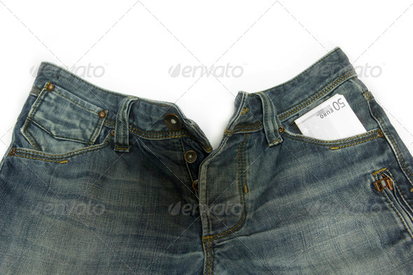 Blue jeans - Stock Photo - Images