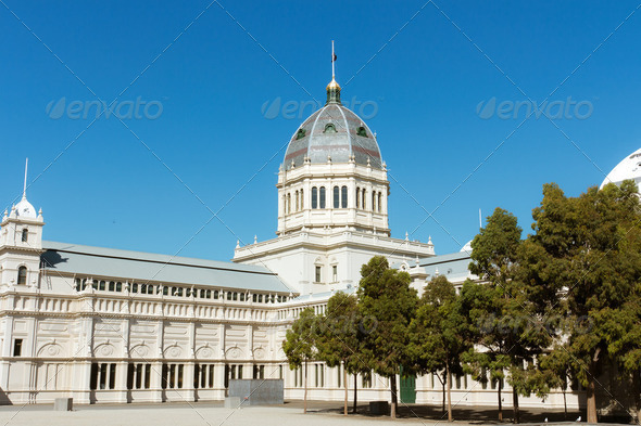 Colonial building - Stock Photo - Images