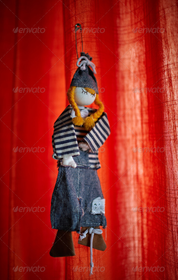 Handmade toy - Stock Photo - Images