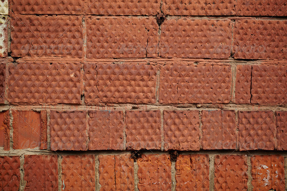 Red brick wall - Stock Photo - Images