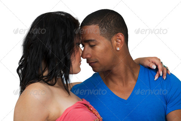 Couple love emotions - Stock Photo - Images