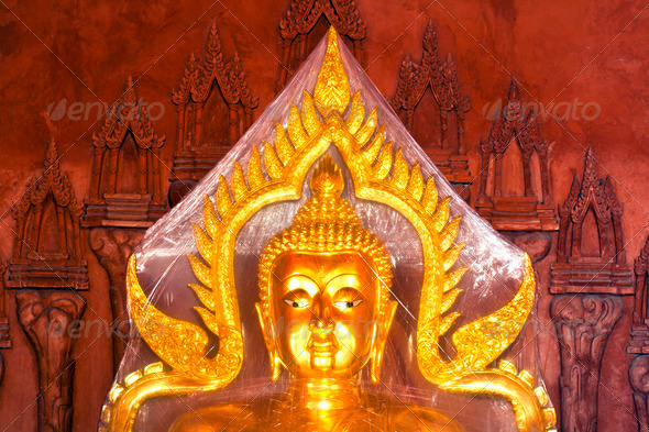 Golden Buddha - Stock Photo - Images