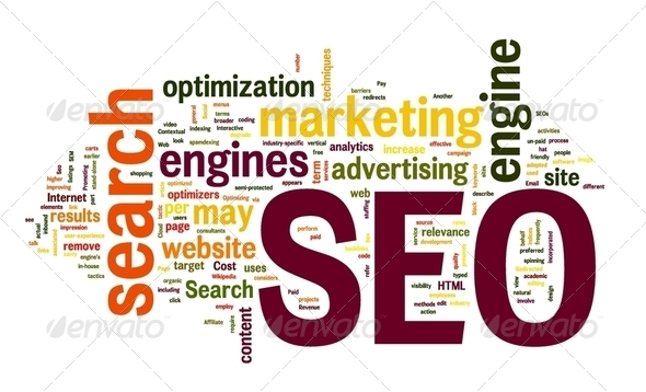 PhotoDune SEO in word cloud 2349894