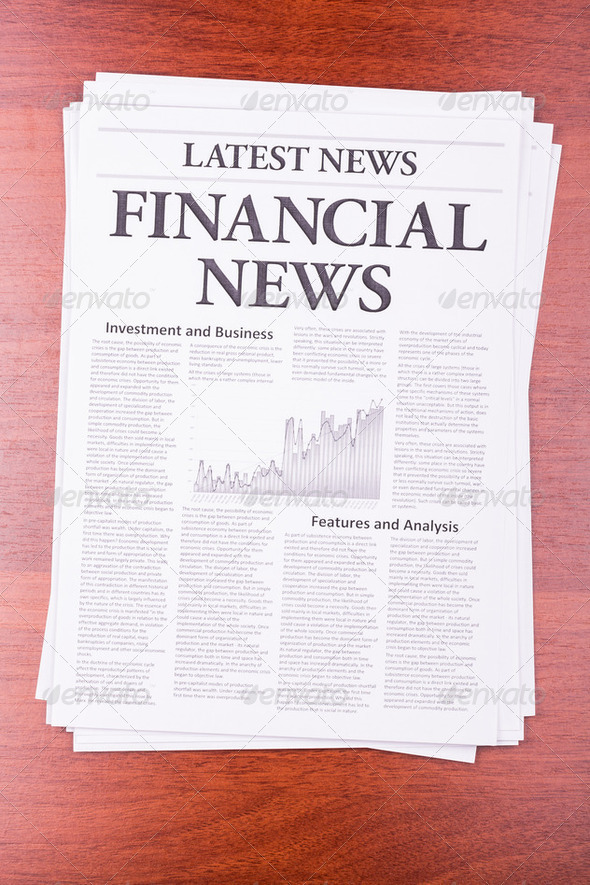 The newspaper LATEST NEWS - Stock Photo - Images