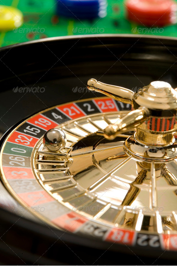 roulette wheel - Stock Photo - Images