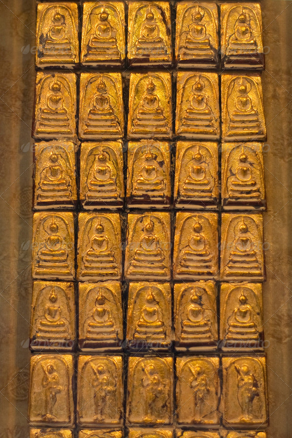 Small Buddhas - Stock Photo - Images