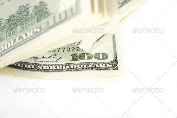 Dollar Abstract Background - Stock Photo - Images