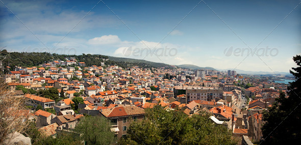 Sibenik panorama - Stock Photo - Images