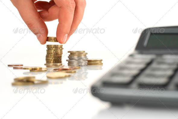 Financial concept. - Stock Photo - Images