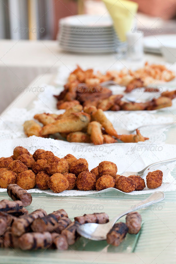 Fried snack - Stock Photo - Images