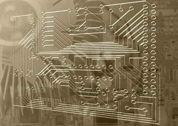 Circuit Board - Stock Photo - Images