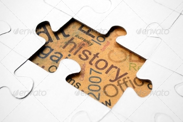 History puzzle - Stock Photo - Images