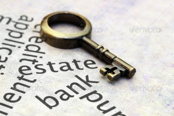 Estate and loan concept - Stock Photo - Images
