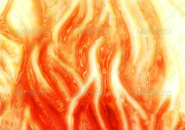 abstract fire background - Stock Photo - Images
